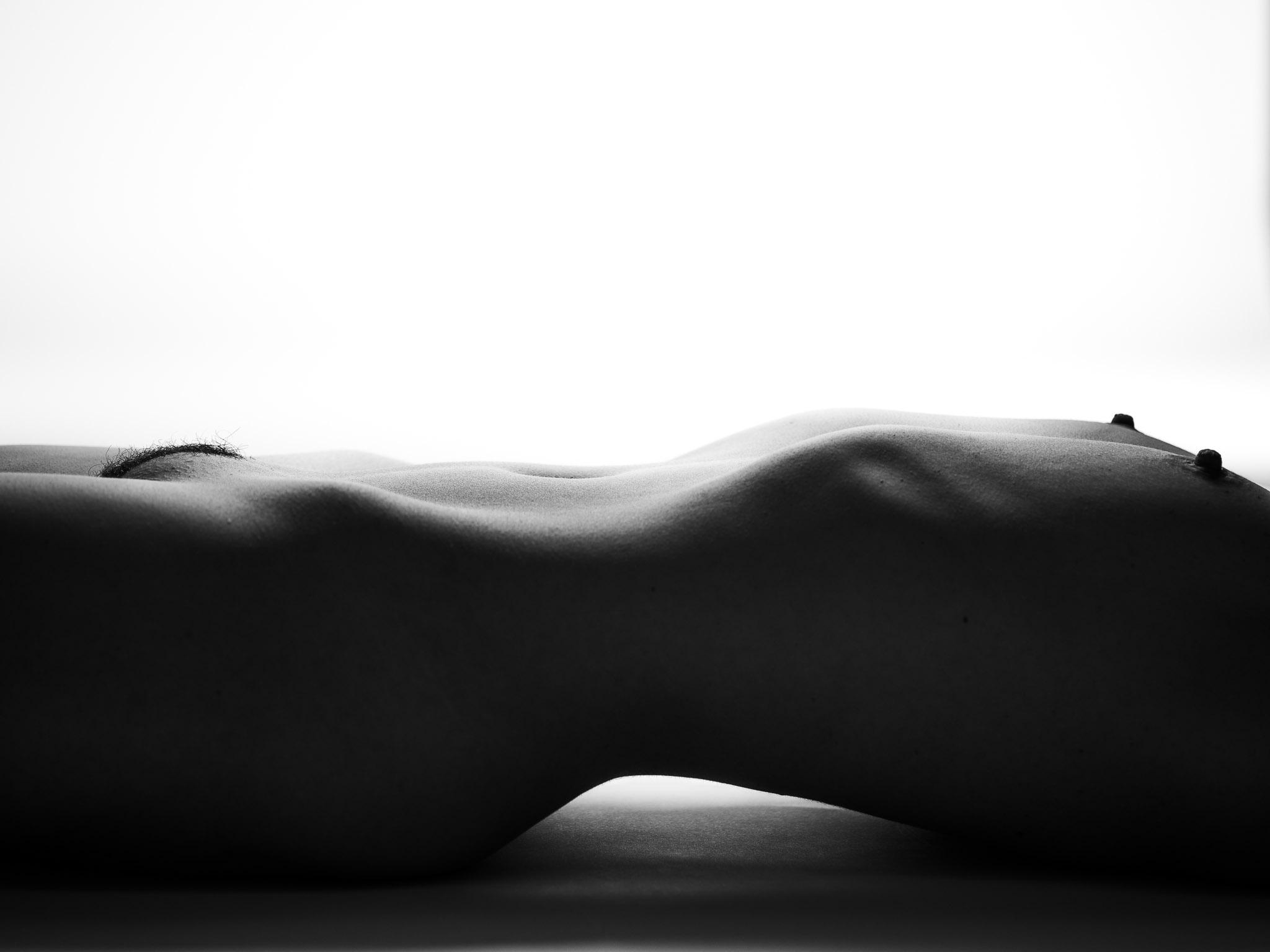 Körperlandschaft weiß